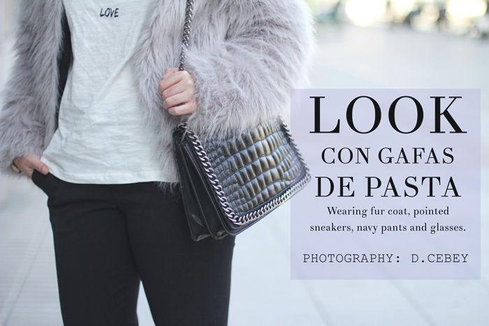 LOOK CON GAFAS DE PASTA