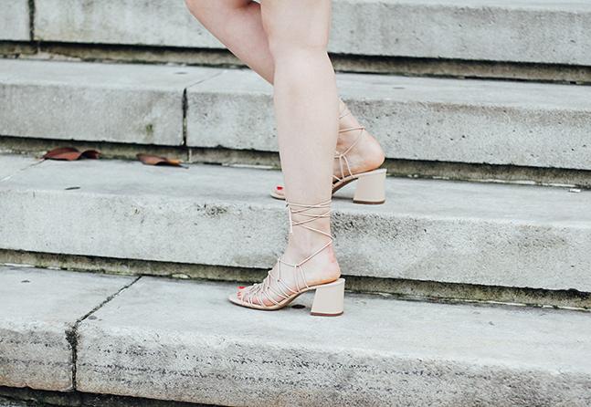 strap sandals mango nude streetstyle myblueberrynightsblog